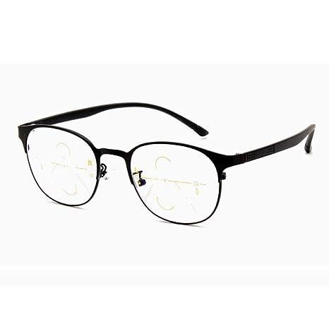 ZY Reading Glasses Gafas de Lectura progresivas de Enfoque ...