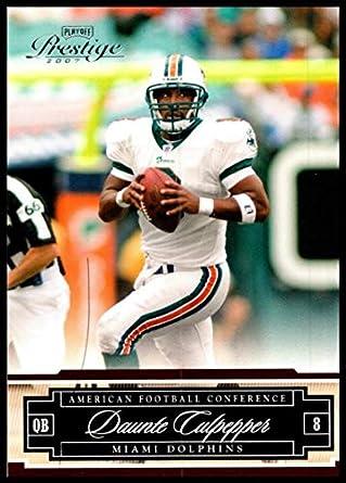 2007 Playoff Prestige  79 Daunte Culpepper NM-MT Miami Dolphins Official NFL  Football Trading ef58e4fcd