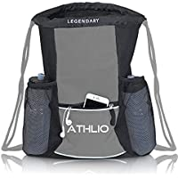 Legendary Drawstring Gym Bag - Waterproof | For Sports &...