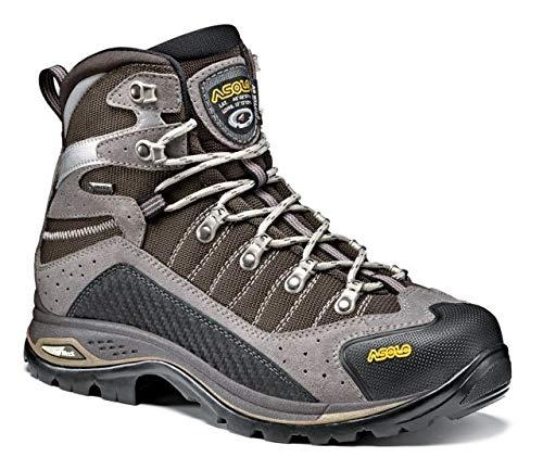 (Asolo Drifter GV EVO Hiking Shoe - Mens, Cendre/Brown, 9, A23104 A23104-Cendre/Brown-9)