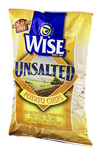 Wise Potato Chips Unsalted