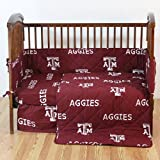 College Covers Texas A&M Aggies 5 Piece Baby Crib Set