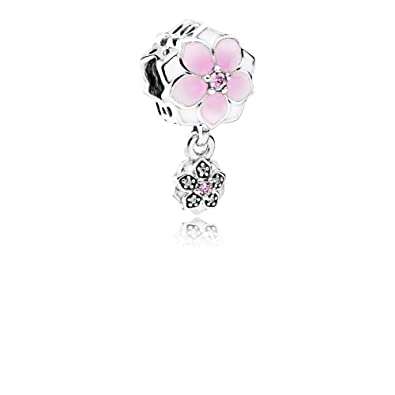 daa57eb43 Image Unavailable. Image not available for. Color: Pandora Women's Magnolia  Bloom Pendant Charm ...