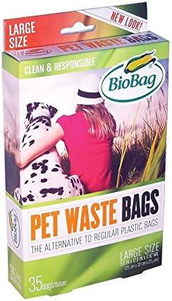 Amazon.com: Biobag perro bolsas de basura, Grande, Negro ...
