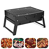SJ Shop Portable Folding Charcoal BBQ Barbecue Grill Garden Party Outdoor Camping Tool