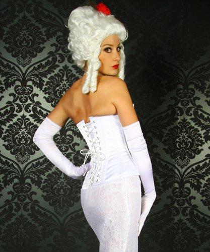 vollbrustkorsett novia, color blanco blanco