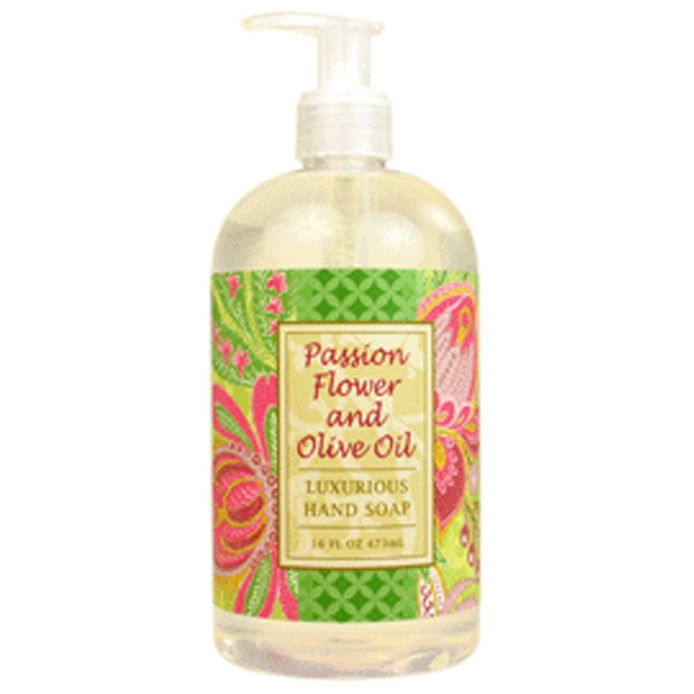 Passion Flower and Olive Oil Shea Butter Hand Soap by Greenwich Bay Trading Co. 16 oz R2Y023