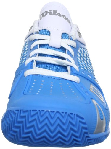 Wilson Blau Mujer Azul Pro Tenis Sintético Material Rush Zapatillas De cyan Cc xxSrv