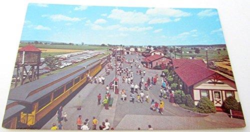 (VINTAGE POSTCARD STRASBURG RAILROAD DEPOT STRASBURG PA train railway station)