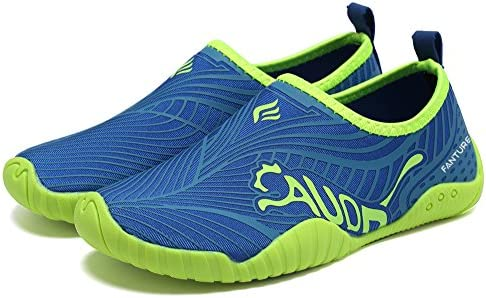 Fanture Girls /& Boys Water Shoes Lightweight Comfort Sole Easy Walking Athletic Slip on Aqua Sock Toddler//Little Kid//Big Kid U4JSX001