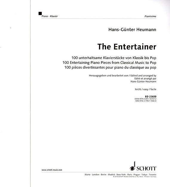 The Entertainer – divertissante de Piano de 100 embouts de ...