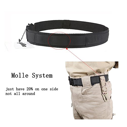 Yisibo Tactical Waist Belt With Molle System Military