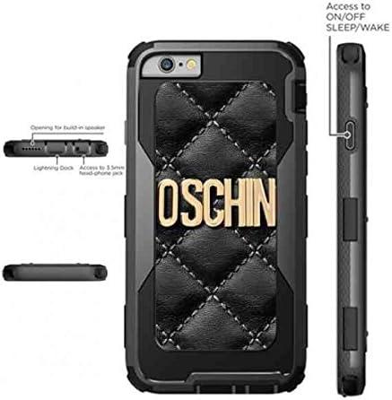 berü Célèbre marque logo Moschino Coque de protection pour iPhone ...