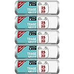 Gut-Gunstig-150-bolsas-de-basura-con-asa-25-litros-30-unidades-por-rollo-resistentes-a-desgarros-y-a-prueba-de-liquidos-producto-y-embalaje-reciclables