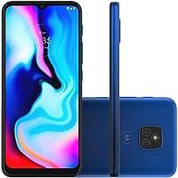 """Smartphone Moto E7 Plus Azul Navy, com Tela de 6,5, 4G, 64GB e Câmera de 48MP* + 2MP - XT2081-1"""""""
