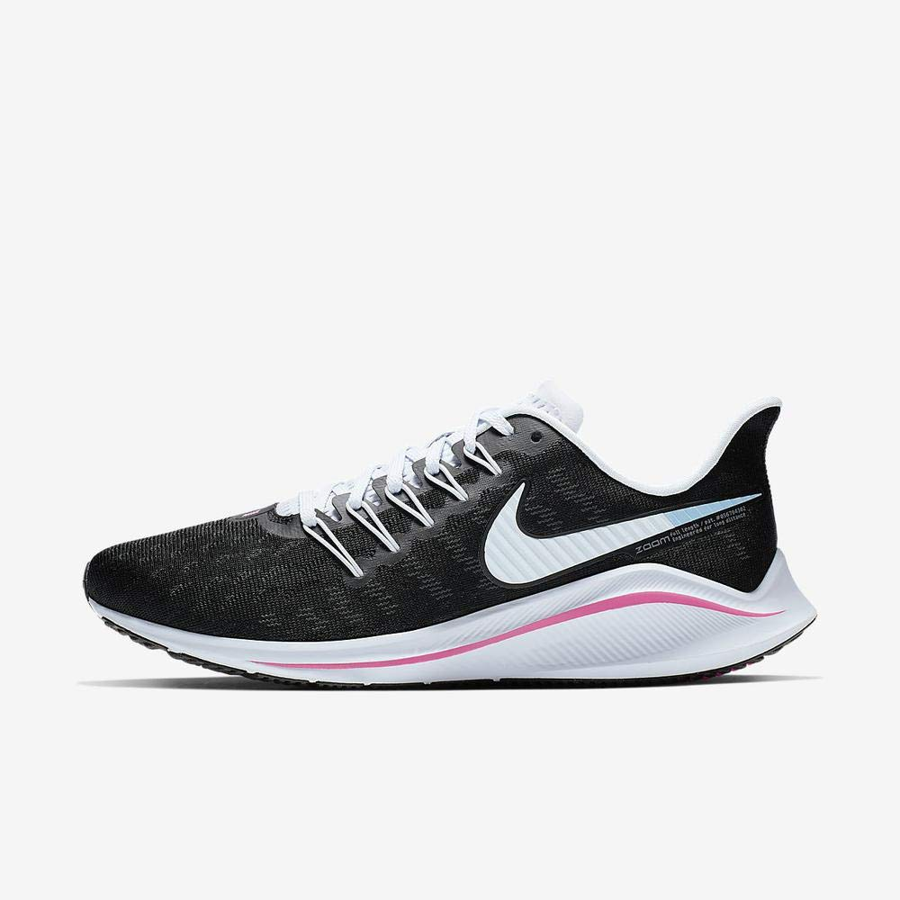 MultiCouleure (noir Hyper rose Football gris rose Beam 000) 44 EU Nike WMNS Air Zoom Vomero 14, Chaussures d'Athlétisme Femme