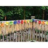 Luau Deck Party Fringe - Decorate your Garden Decking Area, 24 Foot X 12 Inch