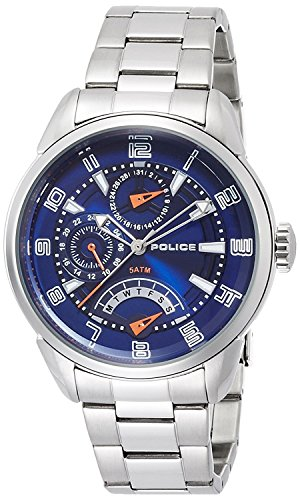 POLICE watch flash 10th Anniversary model 5 ATM water resistant 14407JS-03MA Men's [regular imported goods]