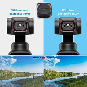 STARTRC OSMO Pocket 2 Lens Cover,Camera Protective Cover for DJI OSMO Pocket 2 Camera Accessories (Color: lens protective cover)