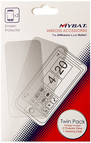 - MYBAT KYOC5155LCDSCPRTW LCD Screen Protector for Kyocera Rise C5155 - Retail Packaging - Twin Pack