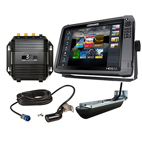 Lowrance 000-12916-001 HDS-12 Gen3 with StructureScan 3D Bundle For Sale
