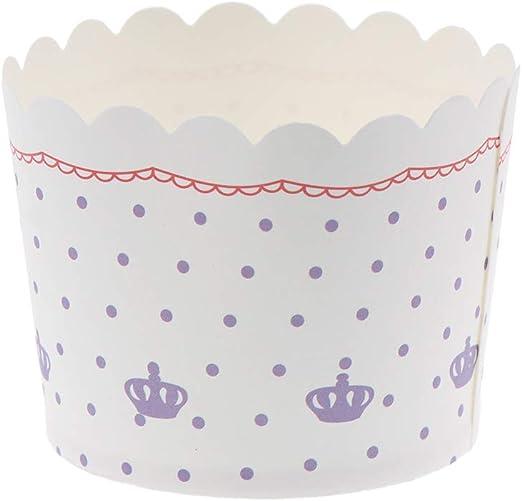 BESTONZON Copas de papel para hornear, envoltorios de líneas de ...