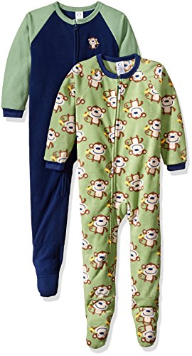 gerber-little-boys-baby-and-2-pack-blanket-sleepers-monkey-4t