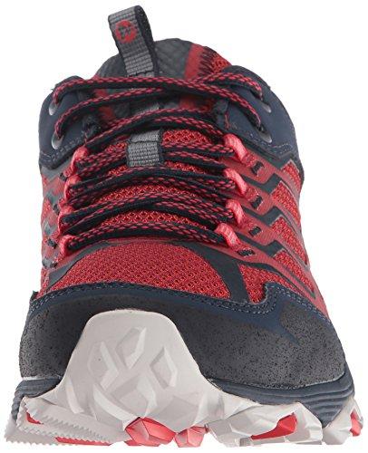 Merrell Moab Fst, Zapatillas de Senderismo para Hombre Navy Dark Red