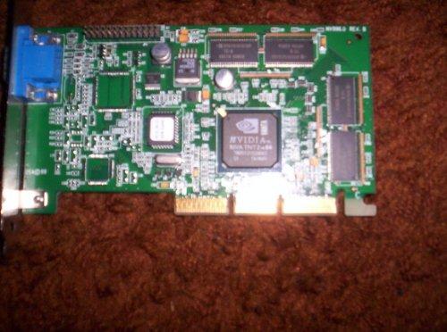 Visiontek - NVIDIA RIVA TNT2 64 AGP VIDEO CARD T6B5802370014 8MB - G7500.1 (Nvidia Riva Tnt2)