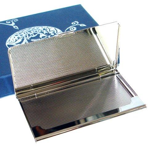 Patchwork Money Case Stainless Verde Pocket Giallo Id Steel Slim Design Business Holder Con Name Madreperla Credit Cash Purse Pelle Engraved Card Rosso Metal In UgfqqnP