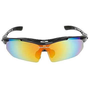 e1701c57c4b Buy Generic Polarized Cycling Driving Sun Glasses Eyewear Bike Goggles  Windproof Fishing Sunglasses - black