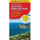 South Africa, Namibia, Botswana Marco Polo Map