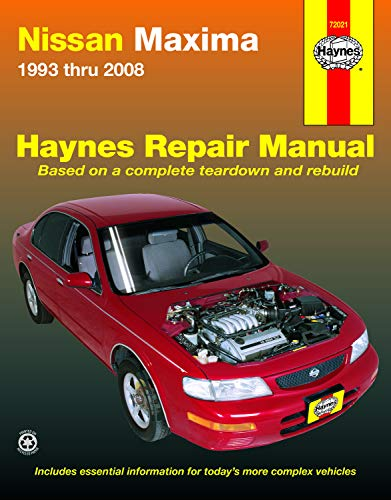 (Nissan Maxima 1993 thru 2008 (Hayne's Automotive Repair Manual) )