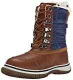 Pajar Sammy Boot (Little Kid/Big Kid), Cognac/Navy, 31 EU(13 M US Little Kid)
