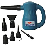 XPOWER A-2 Airrow Pro Multi-Use Electric Computer Duster Dryer Air Pump Blower - Blue