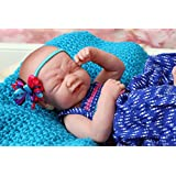"""Baby Girl crying Berenguer LifeLike Reborn Preemie Doll +Extras 14"""" Inches with beautiful accessories"""