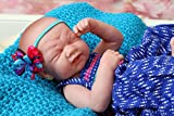 "Baby Girl crying Berenguer LifeLike Reborn Preemie Doll +Extras 14"" Inches with beautiful accessories"