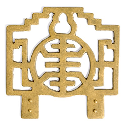 CBH Old China Style Brass Picture Hook Hanger Hardware 4