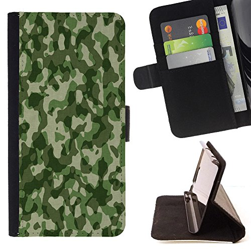 Shockproof Card holder phone case for LG Nexus 5X(Army Green) - 3