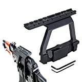 ak 47 quick release side mount - Ledsniper® NEW A-k Scope Mount Tactical Heavy Duty Scope Mount Base Saiga HOT 47 A-k Heavy Duty Mount Side Rail Base for Airsoft 20mm Rail Scope Sight New