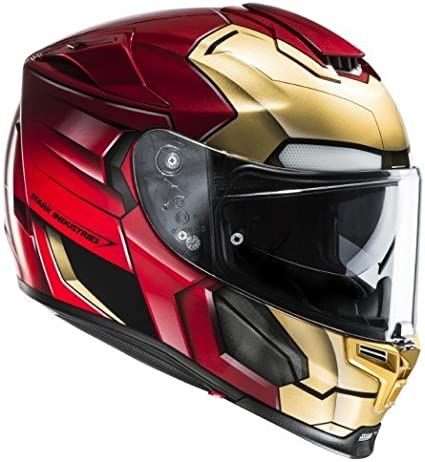 Amazon.es: HJC 14360107 Casco de Moto, Ironman Homecoming, Talla S