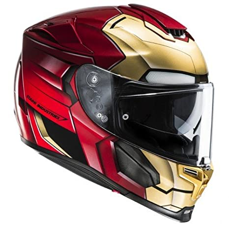 HJC 14360109 Casco de Moto, Ironman Homecoming, Talla L: Amazon.es: Coche y moto