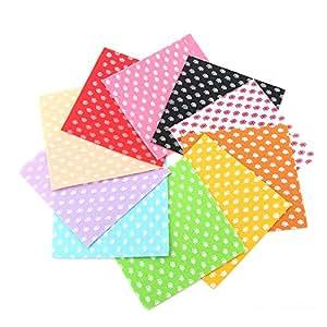 Shuan Shuo 10pcs/lot colorido fieltro de poliéster patchwork tela de fieltro juego de accesorios para DIY hecho a mano Craft 15x 15cm