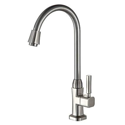 Auralum Normaldruck Küchenarmatur Wasserhahn für Waschbecken/Spüle  Küche.\
