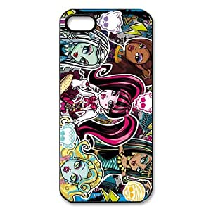 Customize Cartoon Game Monster High Back Cover Case for iphone 5 5S JN5S-2426