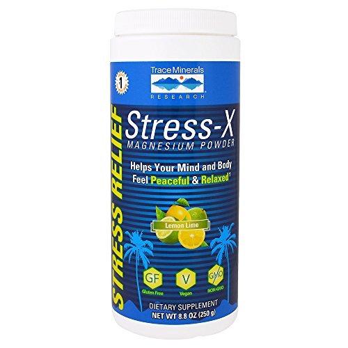Trace Minerals investigación stress-x magnesio en polvo, 12.7 onzas: Amazon.es: Salud y cuidado personal