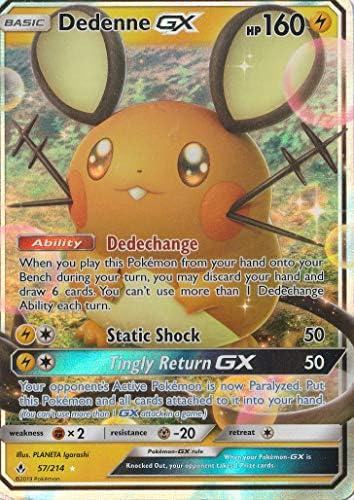 Dedenne GX 54//214 Ultra Rare