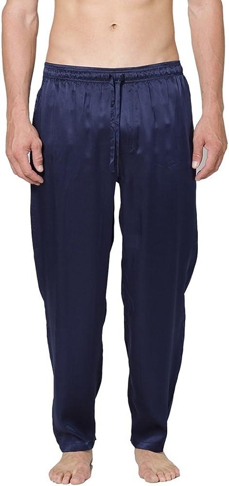 Intimo Men's Classic Silk Pant