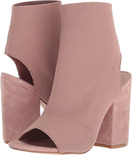 Steve Madden Women's Ferris Peep-Toe Block Heel Blush 7 M US
