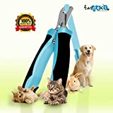 PREMIUM Pet Nail Clippers For Cats and Dogs by Furpect TM Best Dog Toenail Trimmer - Free Nail File For Professional Trimming and Filing for Your Dog or Cat * Includes Clear Instructions and FREE eBook